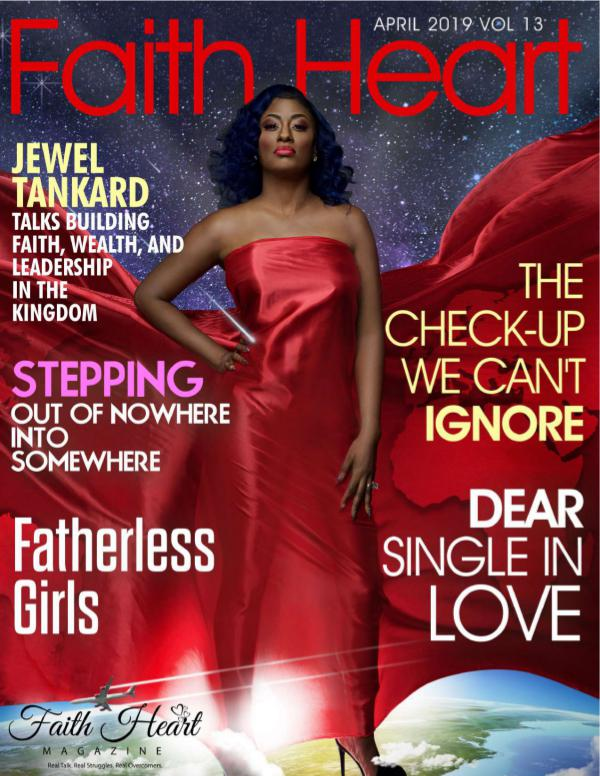 Faith Heart Magazine Jewel Tankard