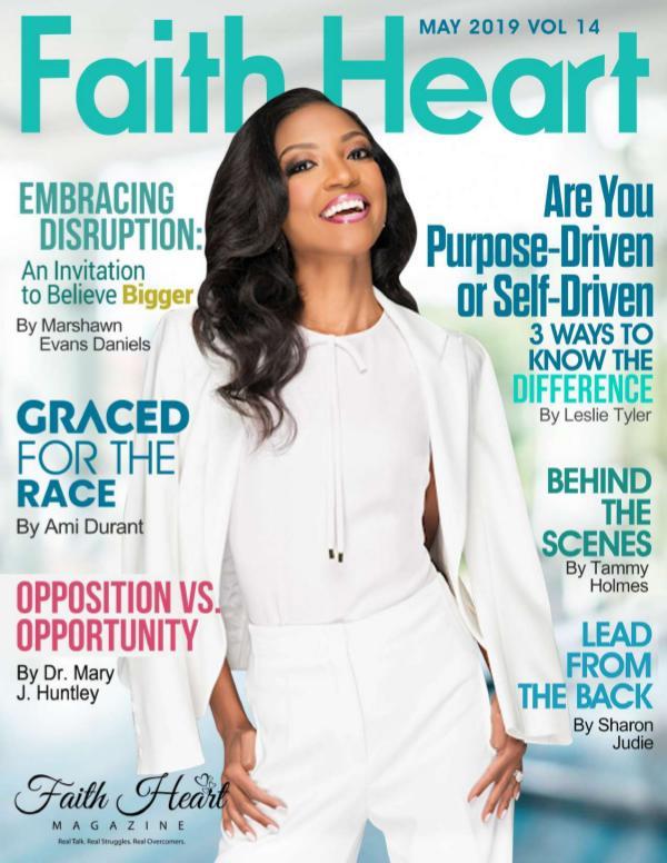 Faith Heart Magazine Marshawn Evans Daniels