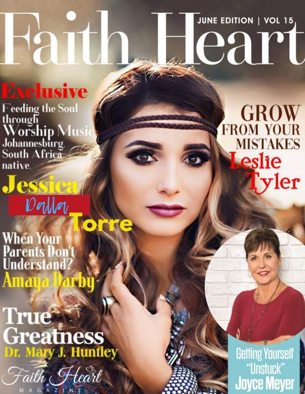 Faith Heart Magazine Jessica Torre