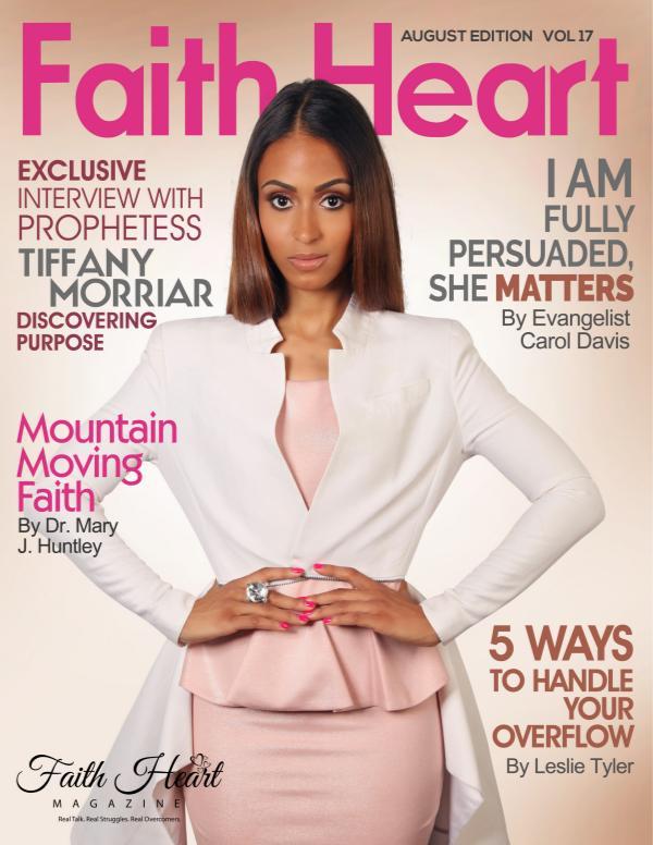 Faith Heart Magazine Tiffany Morriar