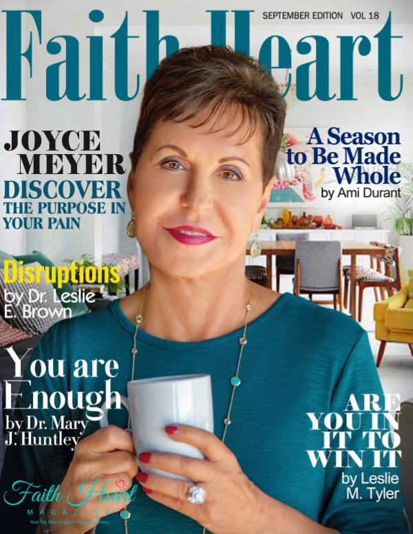 Faith Heart Magazine Joyce Meyer