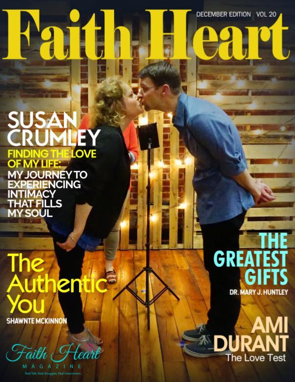 Faith Heart Magazine Susan Crumley