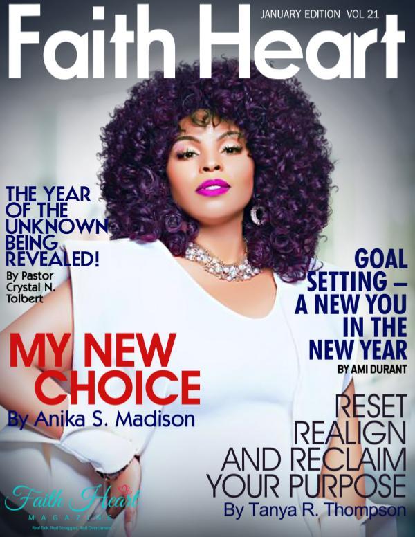 Faith Heart Magazine Pastor Crystal Tolbert