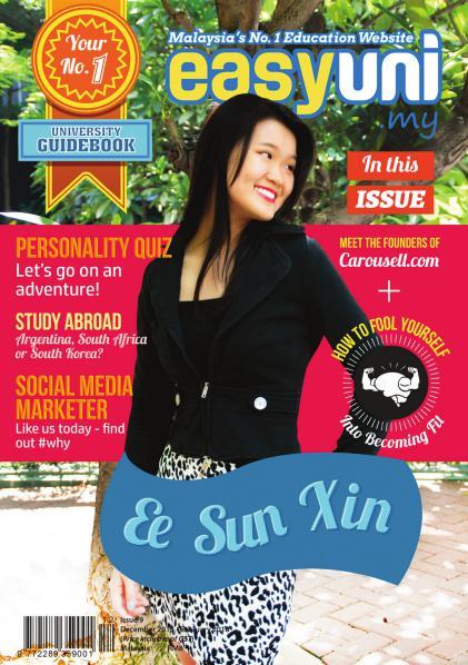 Easyuni Guidebook December 2015 - January 2016