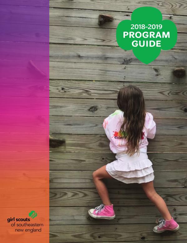 2018-2019 GSSNE Program Guide GSSNE Program Guide 2018-2019