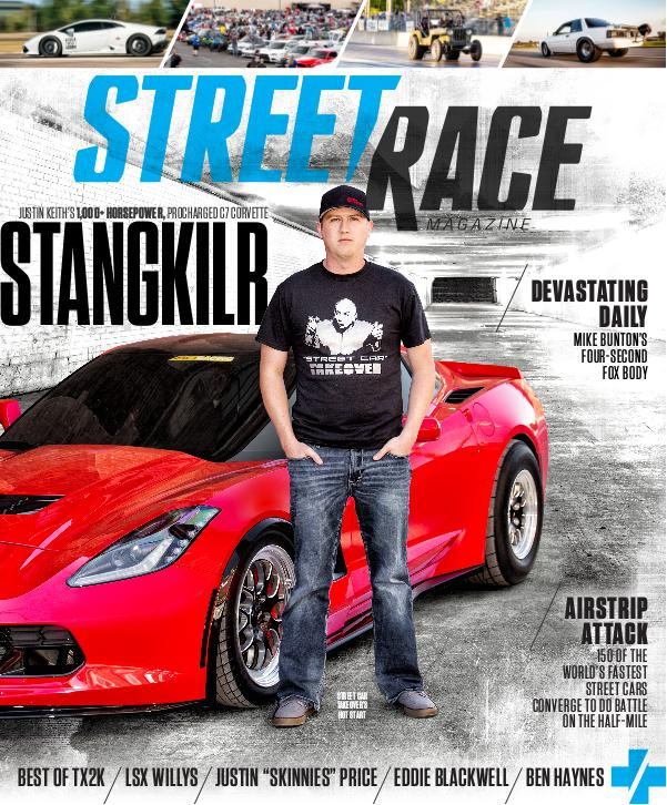 STREET/RACE Issue 1, Winter 2016