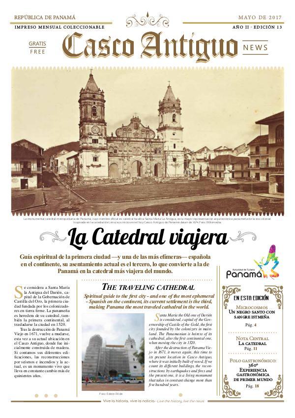 Periódico Casco Antiguo News Edición 13 - MAYO 2017