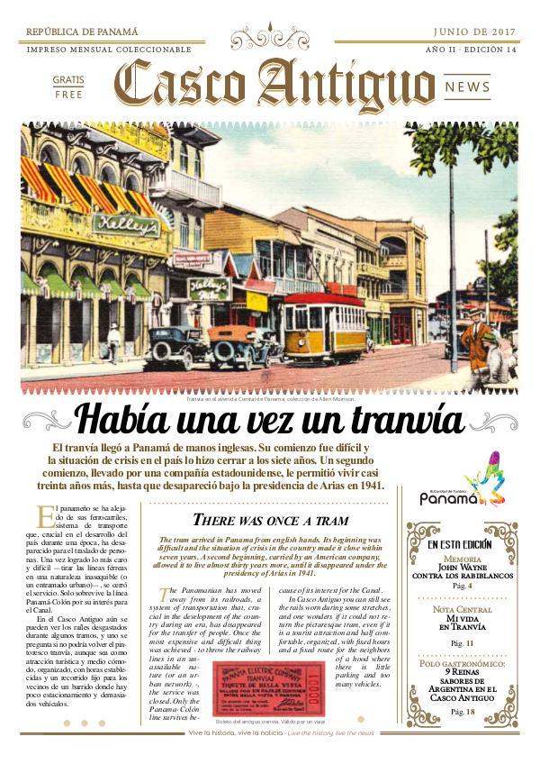 Periódico Casco Antiguo News Edición 14 - JUNIO 2017