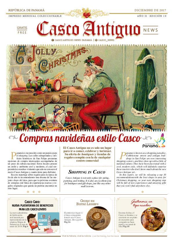 Periódico Casco Antiguo News EDICIÓN 19 · DICIEMBRE 2017