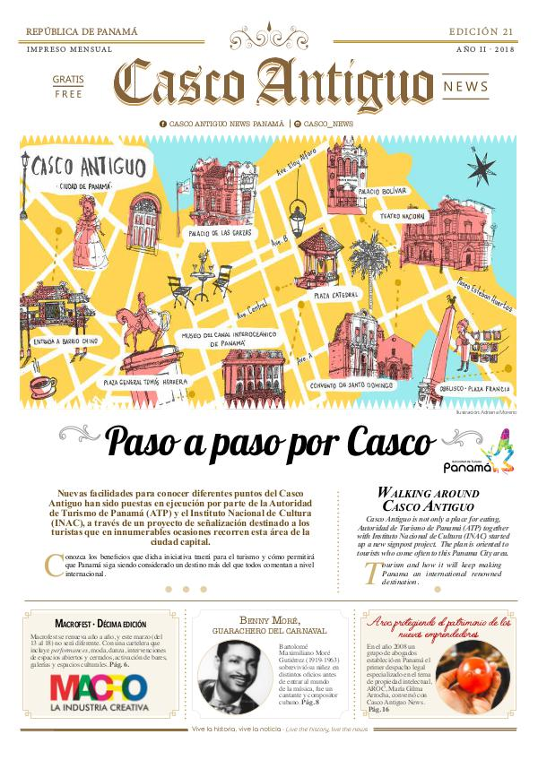Periódico Casco Antiguo News EDICIÓN 21 · FEB - MAR · 2018