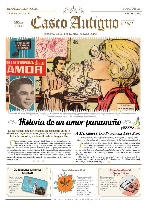 Periódico Casco Antiguo News EDICIÓN 23 · MAYO · 2018
