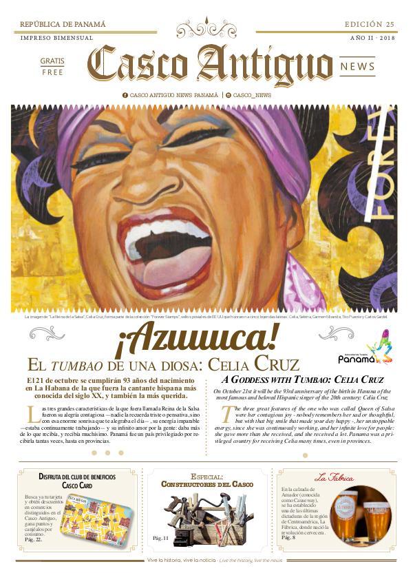 Periódico Casco Antiguo News EDICIÓN 25 · 2018