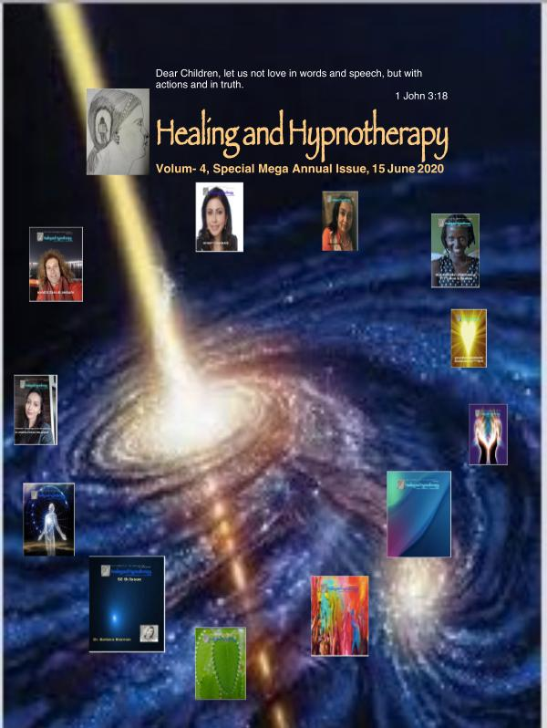 Healing and hypnotherapy Volume 4, Special Mega Annual Issue , 15 June 2020