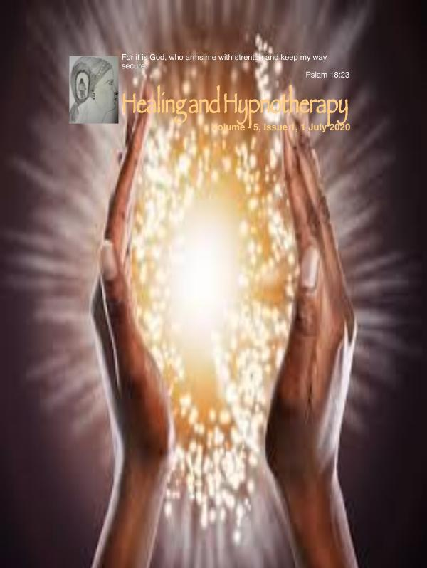 Healing and Hypnotherapy Volume 5, Issue 1, 1 July 2020