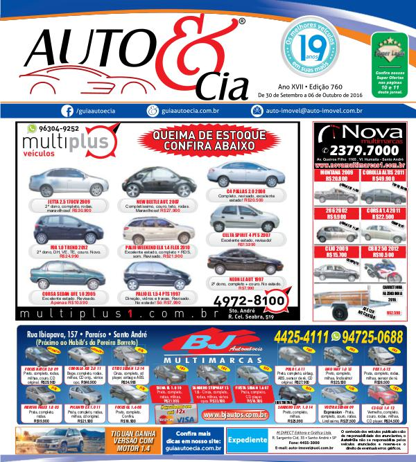 Edição 760 - Auto & Cia Ofertas incríveis