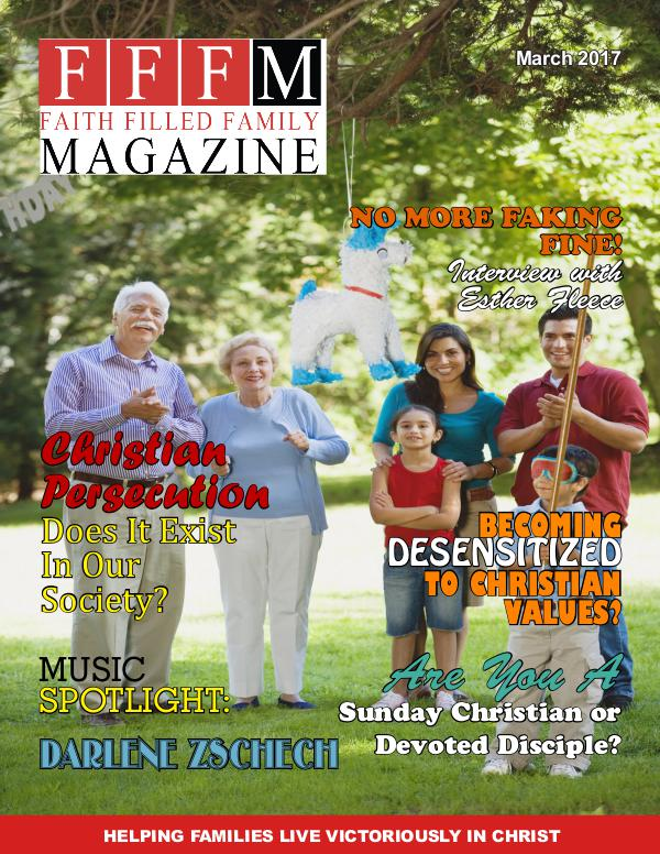 Faith Filled Family Magazine March 2017
