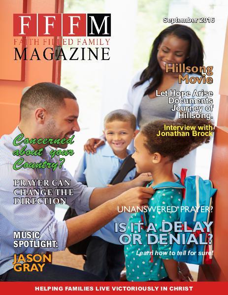 Faith Filled Family Magazine September 2016