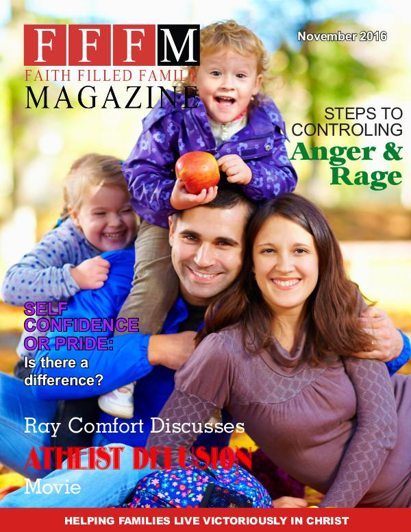Faith Filled Family Magazine November 2016