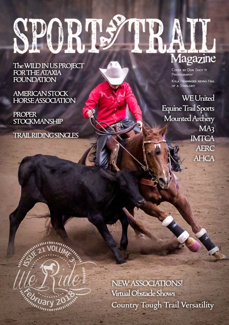 We Ride Sport and Trail Magazine February 2018