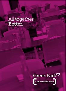 The Green Park Conference Centre Brochure