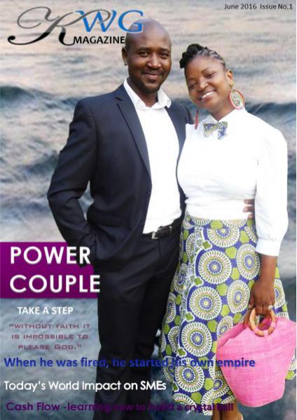 KWG Magazine June 2016 Issue No.1 Volume 1