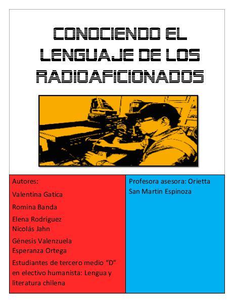 Conociendo el lenguaje de los radioaficionados 1