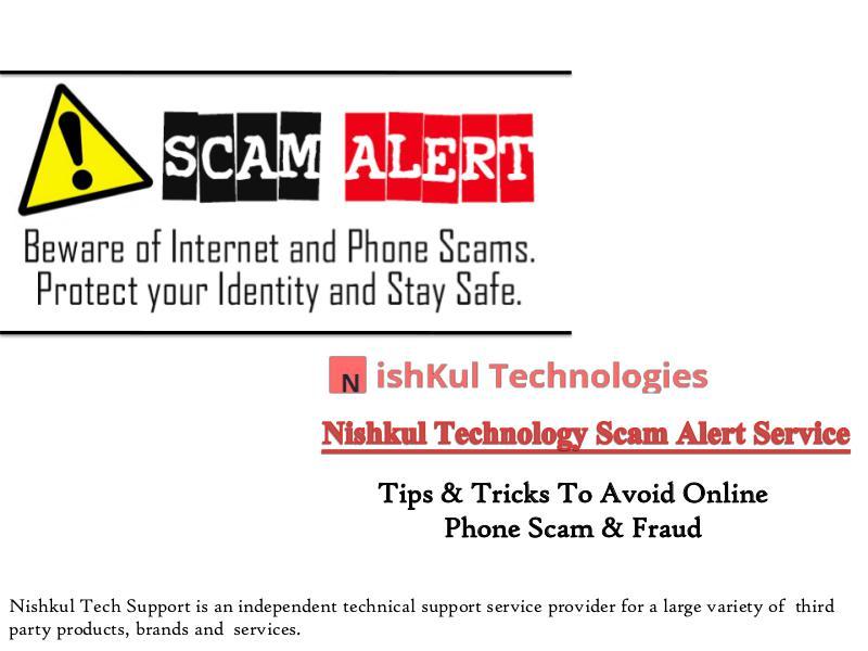 Tips & Tricks To Avoid Online Phone Scam & Fraud Nishkul Tech Support
