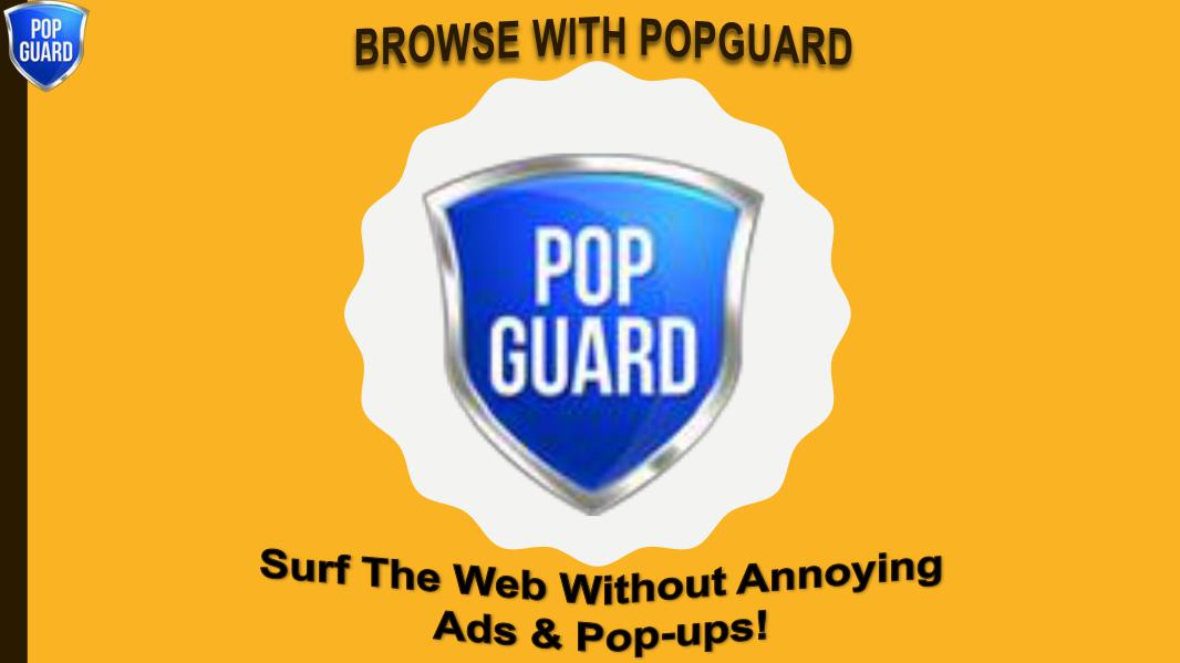 PopGuard The Best Popup & Ad Blocker USA