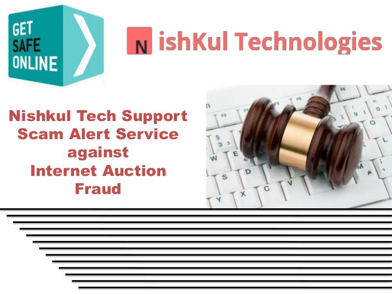 Nishkul Tech Support Scam Alert Service - Internet Auction Fraud In USA