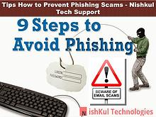 Tips How to Prevent Phishing Scams - Nishkul Tech Support