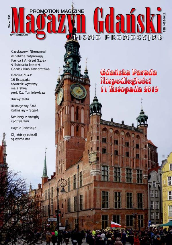 Magazyn Gdański Magazyn Gdański 2019 11 (300)