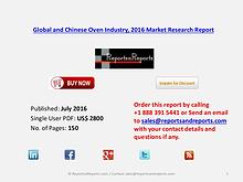 Oven Market Overview by Company, Application/Type Consumption
