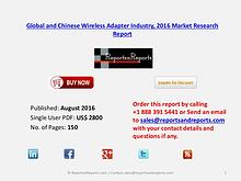 Wireless Adapter Market 2016 Global and Chinese Industry Scenario