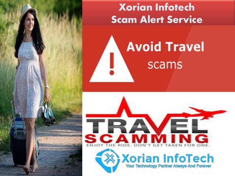 Xorian Infotech Scam Alert Service - Online Travel Scams In USA