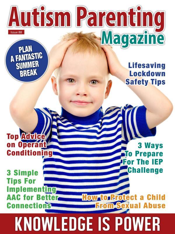 Autism Parenting Magazine Issue 88