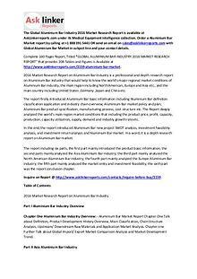 Aluminium Bar Market Economic Environment Analysis and Forecasts 2020