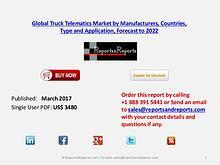 Explore Truck Telematics market forecasts to 2022