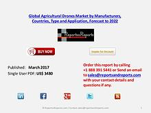 Outlook of Agricultural Drones Market Report During 2017-2022