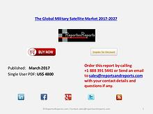 The Global Military Satellite Market 2017-2027