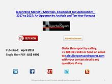 Bioprinting Markets Opportunity Analysis and 10 Year Forecast