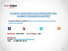 Global Silicone Glue Market 2016-2020 Report