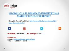 Glass Diamond Industry Key Companies Market Share in 2011–2016 Report