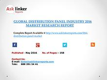 Global Distribution Panel Market 2016-2020 Report