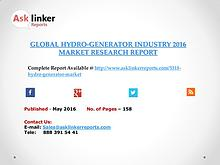 Hydro-Generator Industry Key Companies Market Share in 2016 Report
