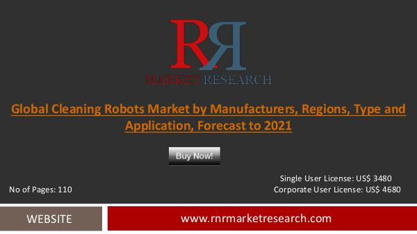 Cleaning Robots Market 2016-2021 Global Research Report Dec 2016