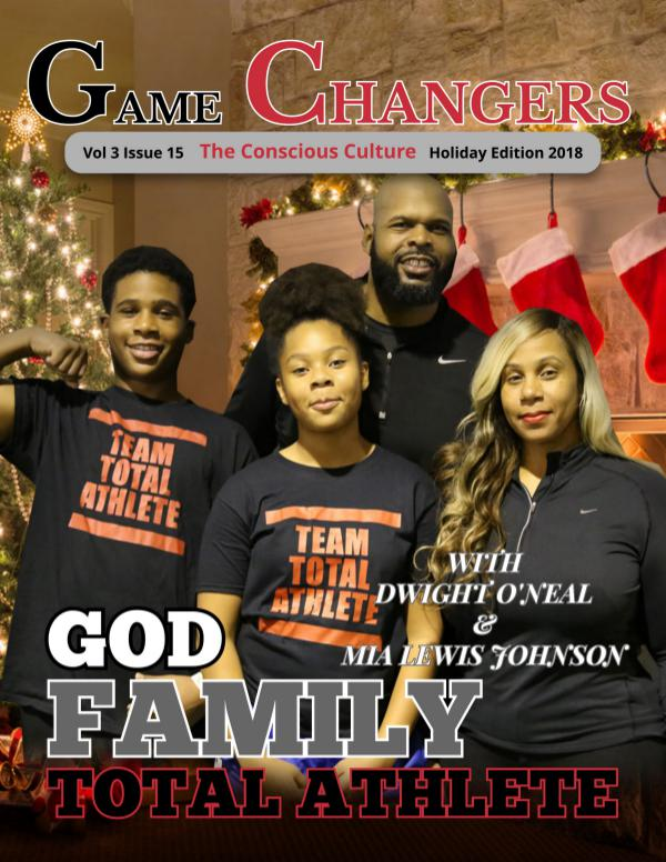 Game Changers: The Conscious Culture Game Changers Magazine Holiday Edition 2018