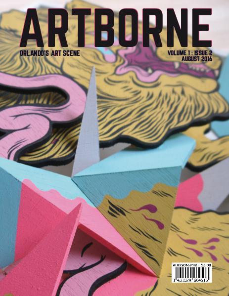 Artborne Magazine August 2016