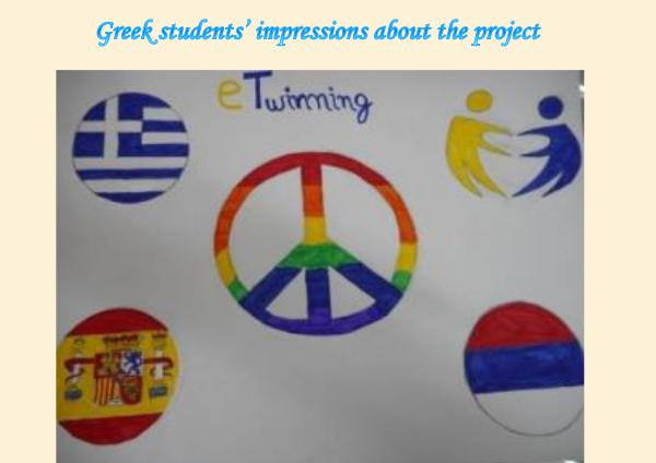 Greek students' impressions about the E-Twinning project Έγγραφο1