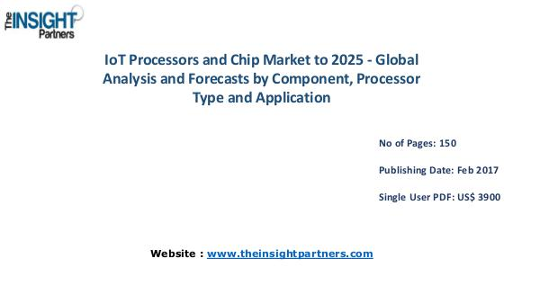 IoT Processors and Chip Industry New developments IoT Processors and Chip Industry New developments