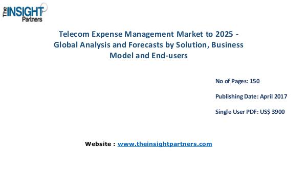 Telecom Expense Management Market Overview, Segmentation Telecom Expense Management Market Overview, Segmen